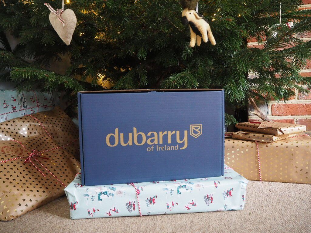 Getting festive with Dubarry of Ireland