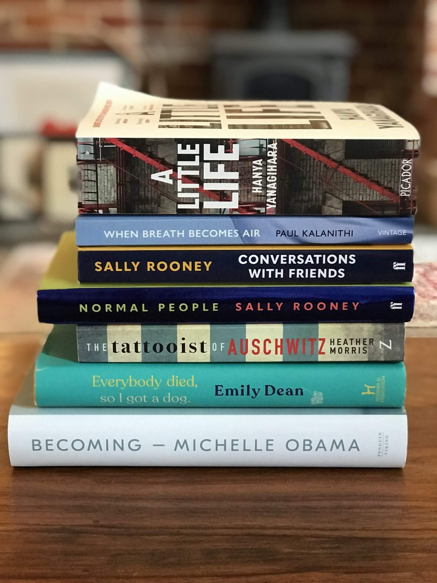 Books I've read in 2019…